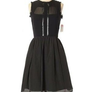 Jessica Simpson black party dress